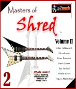 Masters of Shred Guitar Backing Tracks Vol. II