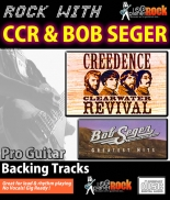 CCR & Bob Seger Guitar Backing Tracks