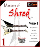 Masters of Shred Guitar Backing Tracks Vol. I